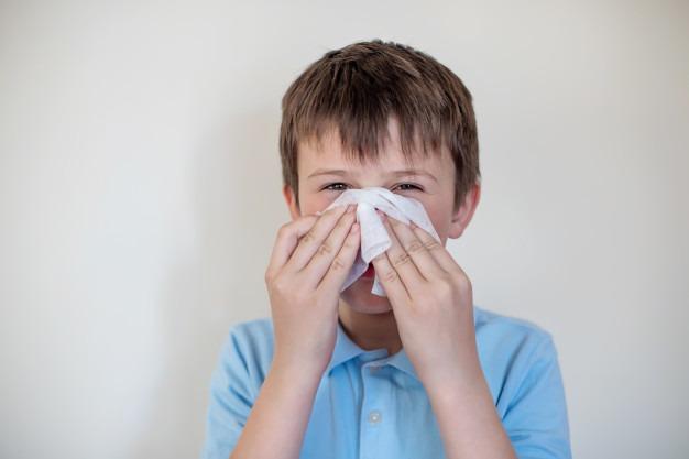 خونریزی بینی در کودکان
