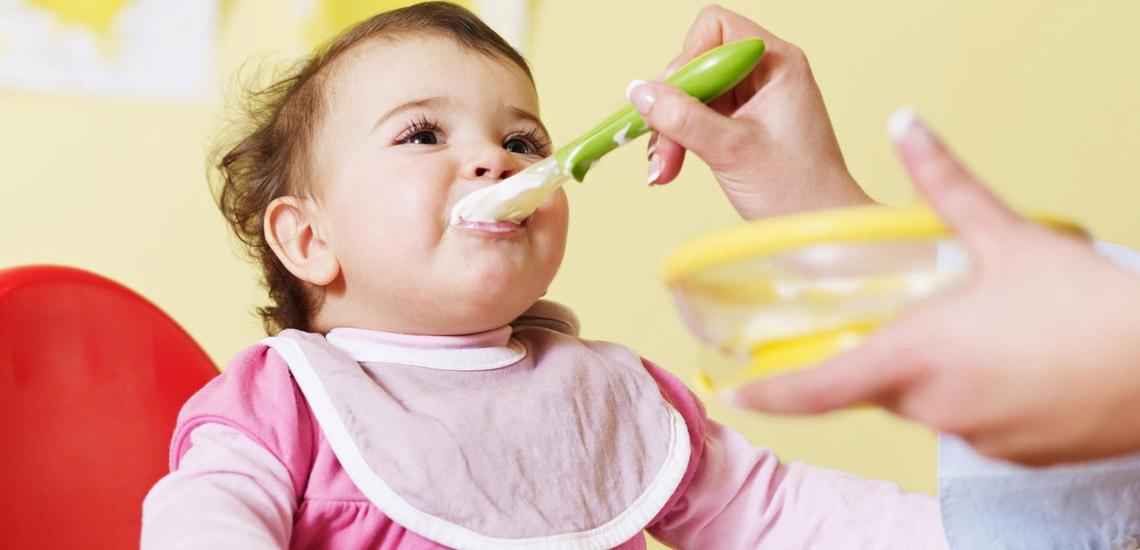 خوراک و تغذیه کودک زیر یکسال
