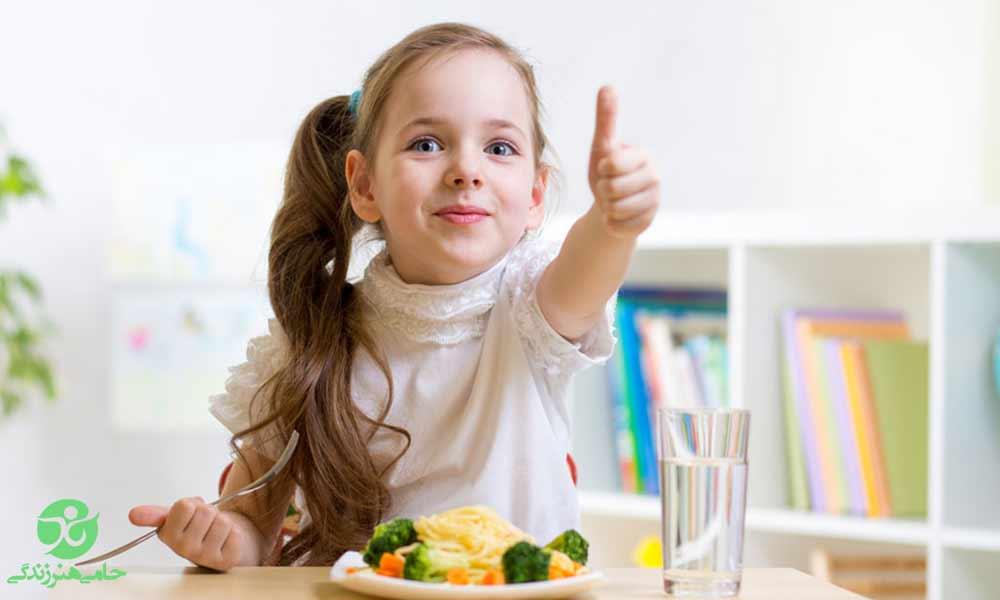 مغذی کردن غذای کودک